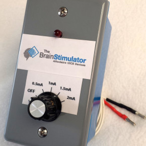 The Brain Stimulator angled view