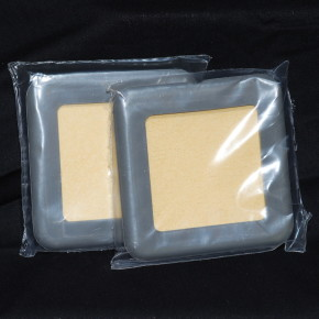 Amrex 3x3 Sponge Electrodes in packaging