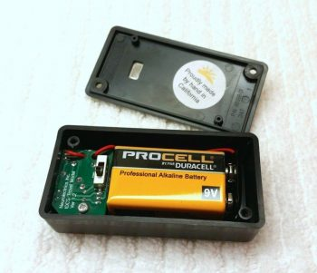 Travel Model Opened with Battery Installed