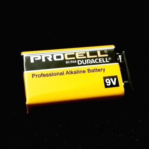 Duracell ProCell 9V Battery for tDCS
