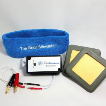 Travel Model tDCS Advanced Kit w 3x3 Electrodes