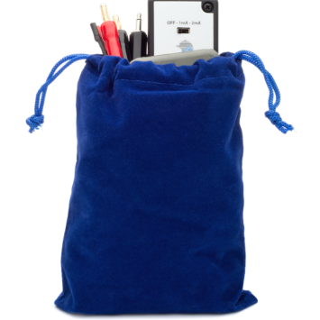 Travel Model Blue Carry Pouch