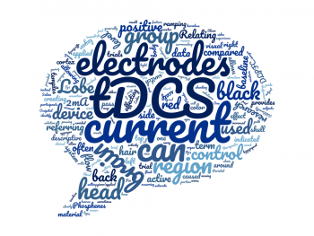 Word Cloud using tDCS Terminology and Acronyms
