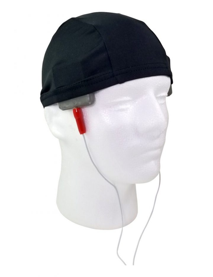 Black Electrode Positioning Head Cap